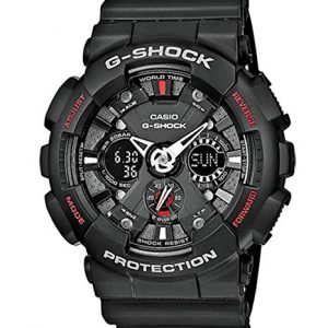 Orologio Casio G-shock GA-120-1AER analogico digitale 20 atm