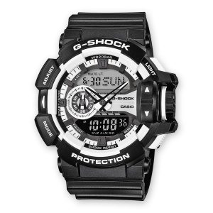 Orologio gomma G-SHOCK GA-400-1AER digitale e analogico water resist 20 atm