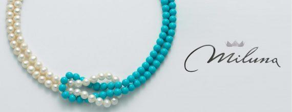 banner miluna collana agglomerato perle PCL5177
