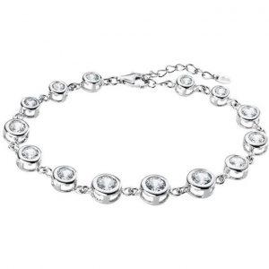 Bracciale argento con zirconi bianchi lp1787-2/1