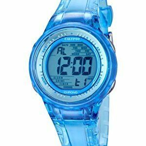 orologio donna/bimba calypso digitale cinturino in plastica azzurro trasparente k5688/1