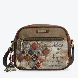 borsa anekke collezione egitto 29892-61egy con tracolla e portachiavi gioiello