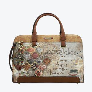 borsa anekke collezione egitto 29894-18egy con portachiavi gioiello e tracolla