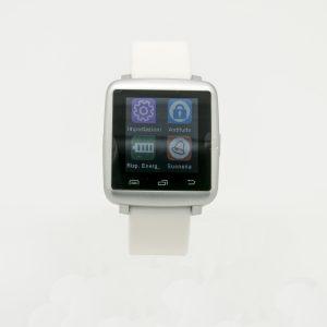 Smartwatch mini cinturino bianco in silicone funzione Avviso di chiamata,Pedometro,Cronometro Sveglia, music remote control