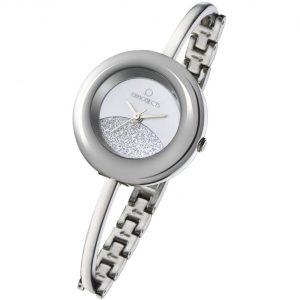 orologio opspw bracciale rigido e maglie quadrante con glitter opspw-350-2700