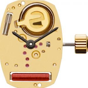 Marca: ETA Calibro Movimento: 282.001 Dimensioni: 5 ½ ‴ × 8 ‴ Altezza movimento: 1,53 mm Sfere : 2 Diametro: 13,00 x 18,20 mm Funzioni: Solo Tempo