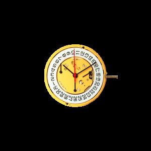 Marca: RONDA Calibro Movimento: 5040D Dimensioni: 12½ '' Altezza movimento: 4,4 mm Sfere : 3 Diametro: 28 mm Funzioni: Chrono 30 minuti al 9 Funzioni: Chrono 60 secondi al 3 Funzioni: Chrono 1/10 secondi al 6 Funzioni : Data al 4