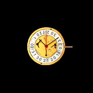 Marca: RONDA Calibro Movimento: 5050B Dimensioni: 12½ '' Altezza movimento: 4,4 mm Sfere : 3 Diametro: 28 mm Funzioni: Chrono 30 minuti al 9 Funzioni: Chrono 60 secondi al 3 Funzioni: Chrono 1/10 secondi al 6 Funzioni : Data al 6