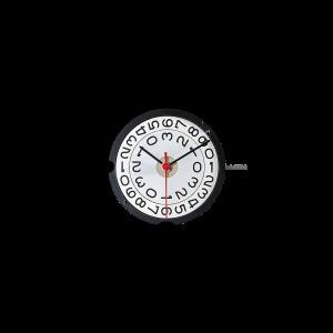 Marca: RONDA Calibro Movimento: 509 Dimensioni: 10½ '' Altezza movimento: 3 mm Sfere : 3 Diametro: 23,30 mm Funzioni: Solo tempo e gran data al 3