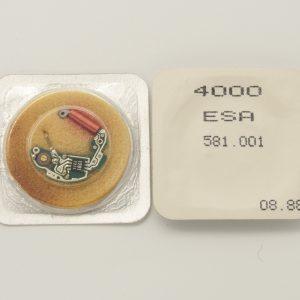 ETA 581.001 Circuito Nuovo Circuito Originale per Orologio Eta 581.001 Questo circuito si trova nella sua confezione originale sigillata