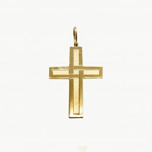 Croce Uomo-Donna in Oro Giallo 750/1000 Peñaranda Jewels Ref. 13299 La Croce è Artigianale ed incisa, Il Retro della Croce, è lucido Le Dimensioni: Altezza 37,1mm X 23,6mm larghezza Il Peso è di 5,3 grammi circa Il Prodotto è Made in Italy.