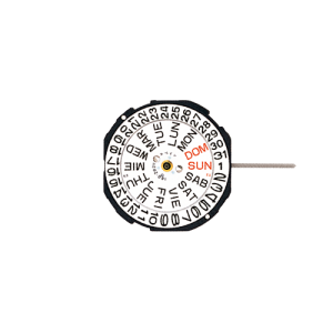 """Marca: SHIOJIRI-SEIKO Calibro Movimento: PC33 Dimensioni: 10 1/2"""" Altezza movimento: 4,15 mm Sfere : 3 Diametro: 23,70 mm Funzioni: Solo Tempo e Doppia Data al 3"""