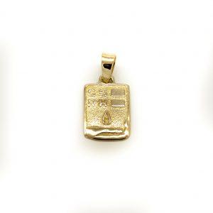 Medaglia Gruppo Sanguigno in Oro Giallo 750/1000 Peñaranda Jewels Ref. 142132 Medaglia Unisex Artigianale in alto rilievo, Prodotta presso il Nostro Laboratorio L'eventuale incisione del Gruppo sanguigno sarà fatta gratuitamente, e dovrà essere richiesta nelle note in sede di Pagamento dell'ordine Dimensioni: Altezza 21,4mm X 13,4mm larghezza Peso di 4,2 grammi circa Prodotto Made in Italy.