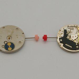 """Marca: France Ebauches Calibro Movimento: FE11539 Dimensioni: 11 1/2"""" Altezza movimento: 3.60 mm Sfere : 3 Diametro: 25,60 mm Funzioni: Solo Tempo - Giorno - Data - Fasi Lunari"""
