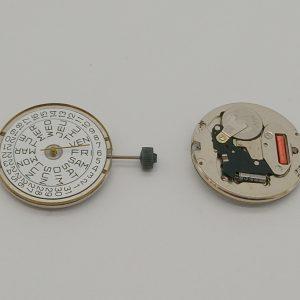 """Marca: France Ebauches Calibro Movimento: FE7222 Dimensioni: 11 1/2"""" Altezza movimento: 3.58 mm Sfere : 3 Diametro: 25,60 mm Funzioni: Solo Tempo - Doppia Data"""