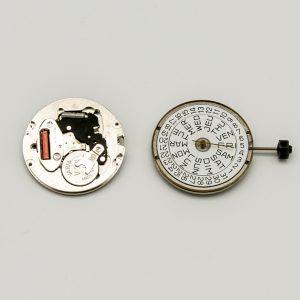 """Calibro Movimento: FE7222 Dimensioni: 11 1/2"""" Altezza movimento: 3.58 mm Sfere : 3 Diametro: 25,60 mm Funzioni: Solo Tempo - Doppia Data"""
