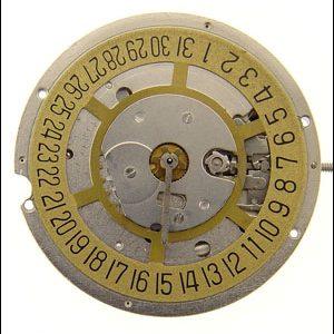 """Marca: RONDA Calibro Movimento: 3975 Dimensioni: 11 1/2 """" Altezza movimento: 2,95 mm Sfere : 3 Diametro: 25,60 mm Funzioni: Solo tempo e data al 3"""