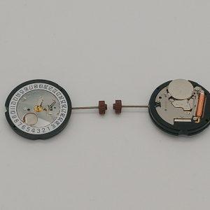 Marca: RONDA Calibro Movimento: 505 Dimensioni: 10½ '' Altezza movimento: 3 mm Sfere : 3 Diametro: 23,30 mm Funzioni: Solo tempo e data al 6 Attenzione la corona e le lancette non sono comprese, eventualmente vanno richieste ed acquistate a parte.