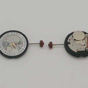 Marca: RONDA Calibro Movimento: 505 Dimensioni: 10½ '' Altezza movimento: 3 mm Sfere : 3 Diametro: 23,30 mm Funzioni: Solo tempo e data al 3